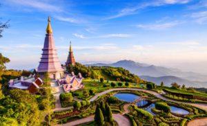 couleurs de la thailande