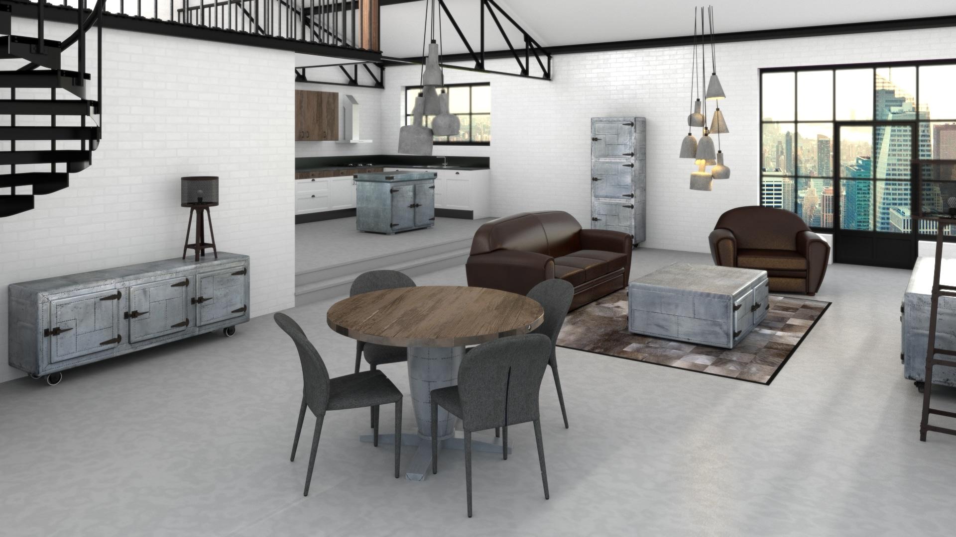 ambiance industrielle tout ce qu 39 il faut savoir sur ce style de d coration. Black Bedroom Furniture Sets. Home Design Ideas